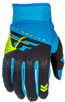 Fly Racing 2017 Youth F-16 Gloves - Blue