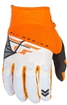 Fly Racing 2017 Youth F-16 Gloves - Orange/White
