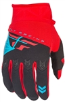Fly Racing 2017 Youth F-16 Gloves - Red/Black