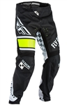 Fly Racing 2017 Youth MTB Kinetic Pant - Black/White