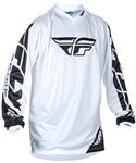 Fly Racing 2017 Youth MTB Universal Jersey - White