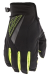 Fly Racing 2017 MTB Youth Title Cold Weather Gloves - Black/Hi-Vis