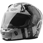 Fly Racing 2018 Revolt FS Liberator Helmet - White/Black