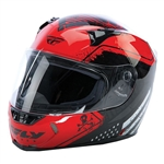 Fly Racing 2018 Revolt FS Patriot Helmet - Red/Black