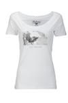Fly Racing 2018 Womens Credit Tee - White