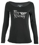 Fly Racing 2018 Womens Nomad Tee - Black