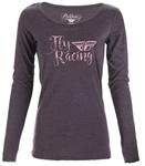 Fly Racing 2018 Womens Nomad Tee - Purple
