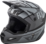 Fly Racing 2018 Youth Elite Guild Full Face Helmet - Matte Grey/Charcoal/Black