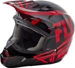 Fly Racing 2018 Youth Kinetic Burnish Full Face Helmet - Red/Black/Orange