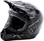 Fly Racing 2018 Youth Kinetic Crux Full Face Helmet - Black