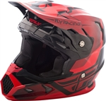 Fly Racing 2018 Youth Toxin Original Full Face Helmet - Red/Black