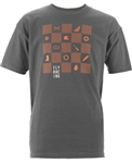 Fly Racing 2018 Youth Checkers Tee - Charcoal