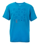Fly Racing 2018 Youth Checkers Tee - Turquoise