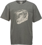 Fly Racing 2018 Youth Head Case Tee - Grey