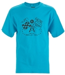 Fly Racing 2018 Youth Tried And True Tee - Turquoise