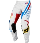 Fox Racing 2018 180 RWT SE Pant - White/Red/Blue