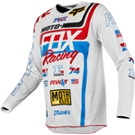 Fox Racing 2018 180 RWT SE Jersey - White/Red/Blue
