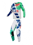 Fox Racing 2018 180 Sayak Combo Jersey Pant - Green