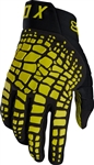 Fox Racing 2018 360 Grav Gloves - Dark Yellow