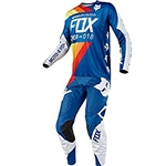 Fox Racing 2018 360 Draftr Combo Jersey Pant - Blue