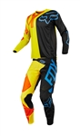 Fox Racing 2018 360 Preme Combo Jersey Pant - Black/Yellow