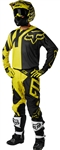 Fox Racing 2018 360 Preme Combo Jersey Pant - Dark Yellow