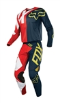 Fox Racing 2018 360 Preme Combo Jersey Pant - Navy/Red