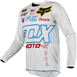Fox Racing 2018 360 RWT LE Jersey - White/Red/Blue