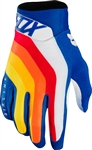 Fox Racing 2018 Airline Draftr Gloves - Blue