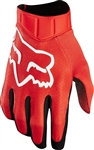 Fox Racing 2017 Airline Race Gloves - Red