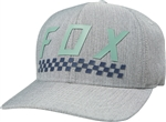 Fox Racing 2018 Check Yo Self Hat - Light Grey