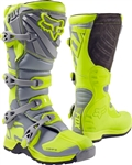 Fox Racing 2017 Comp 5 Boots - Yellow/Gray