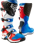 Fox Racing 2017 Comp 5 Fiend Boots - Blue/Red