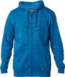 Fox Racing 2018 District 3 Zip Hoody - Blue