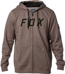 Fox Racing 2018 District 2 Zip Hoody - Grey