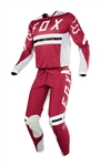 Fox Racing 2018 Flexair Preest Combo Jersey Pant - Dark Red