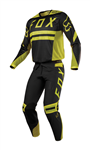 Fox Racing 2018 Flexair Preest Combo Jersey Pant - Dark Yellow
