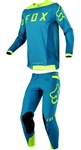 Fox Racing 2018 Flexair Moth LE Combo Jersey Pant - Teal