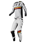 Fox Racing 2018 Flexair Rodka LE Combo Jersey Pant - Light Grey