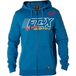 Fox Racing 2018 Flection Zip Hoody - Dusty Blue