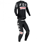 Fox Racing 2018 Flexair Preest LE Combo Jersey Pant - Black/Red