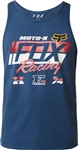Fox Racing 2018 First Placed Premium Tank - Light Indigo