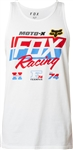 Fox Racing 2018 First Placed Premium Tank - Optic White