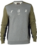 Fox Racing 2018 Harken Crew Fleece - Fatigue Green