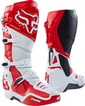Fox Racing 2017 Instinct Boots - White/Red