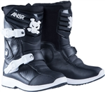Fox 2017 Kids Comp 5K Boots - Black/Sliver