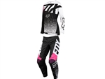 Fox Racing 2018 Kids Girls 180 Combo Jersey Pant - Black/Pink