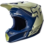 Fox Racing 2017 LE Indy V3 Libra Full Face Helmet - Blue