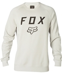 Fox Racing 2018 Legacy Crew Fleece - Light Grey