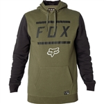 Fox Racing 2018 Listless Pullover Hoody - Fatigue Green